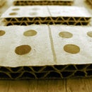 How to make cardboard Dominos