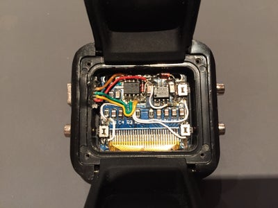 Fit Board Into Watch