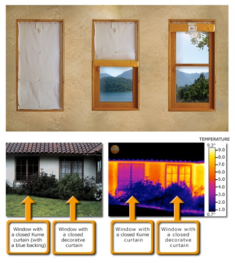 Picture of Insulating Curtains That Cut Heat Losses Through Windows by 50%