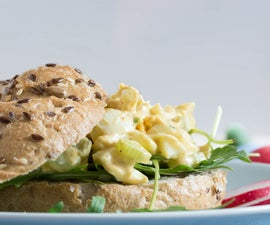 Quail Egg Salad