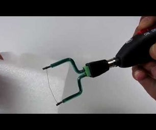 Cordless Lost Foam Cast Cutting Tool - USB Rechargeable