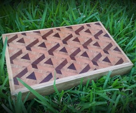 3D End Grain Cutting Board
