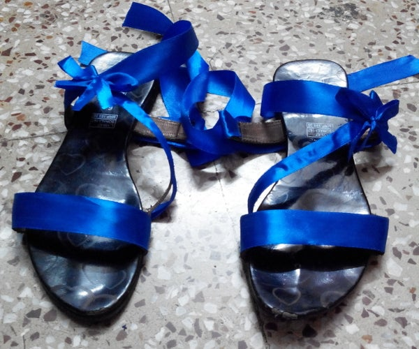 How to Refashion an Old Sandal