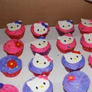Fondant Hello Kitty Cake Toppers