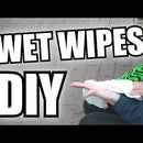 Wet Wipes. 3 Ingredients