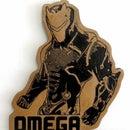 Omega From Fortnite Wall Art