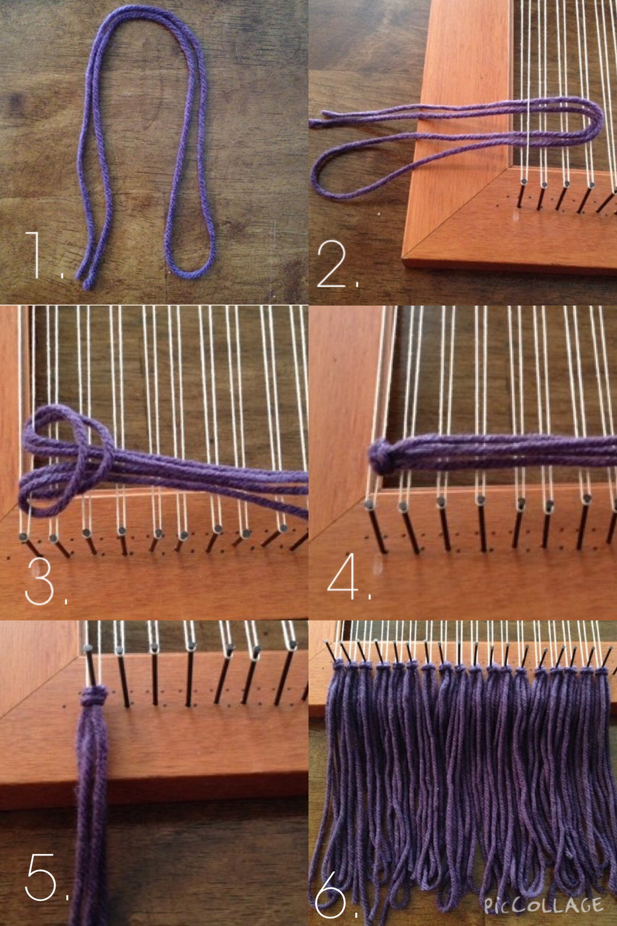 Picture of Bottom Row Tassels