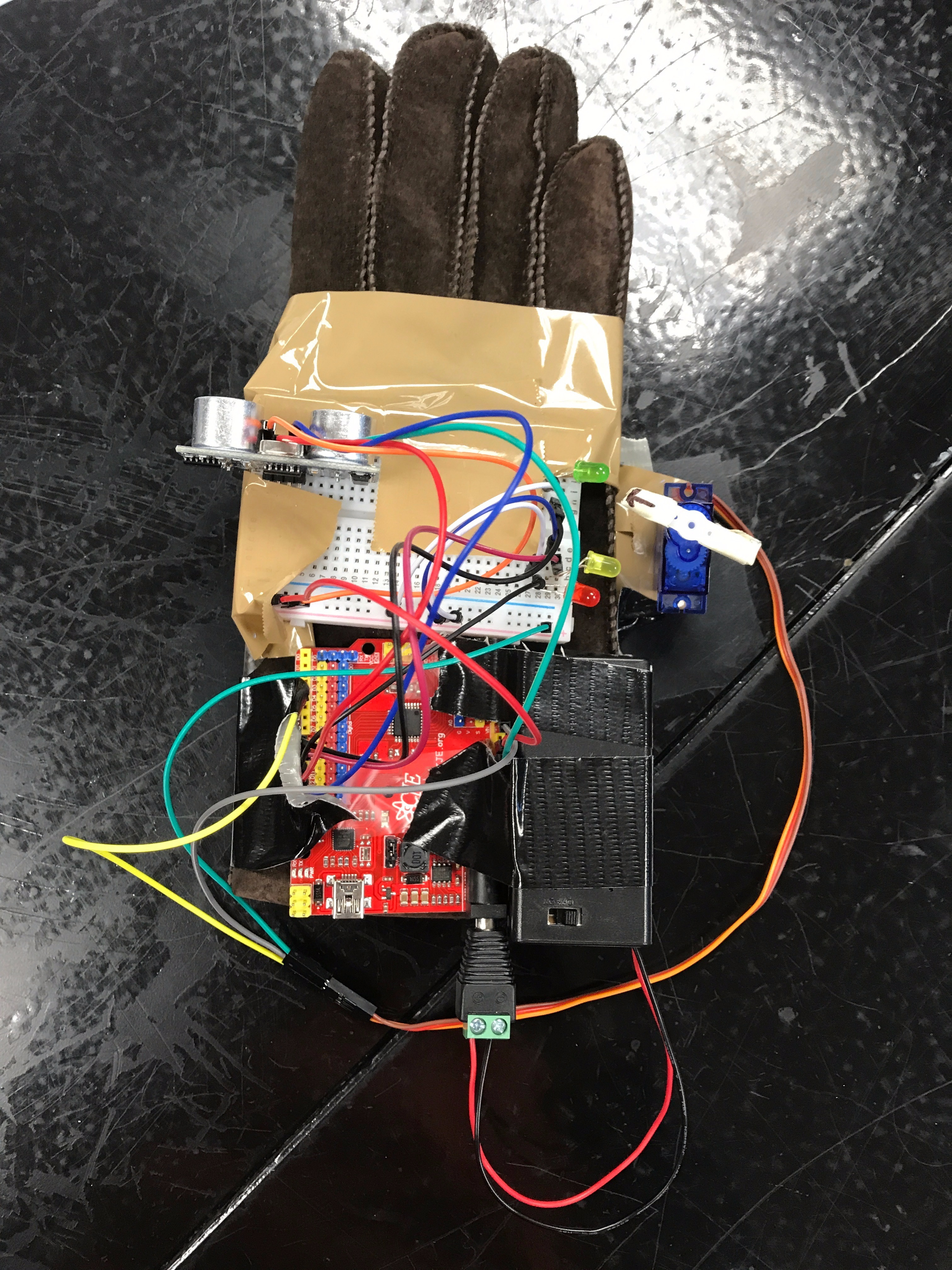 Picture of Light Sensor Glove