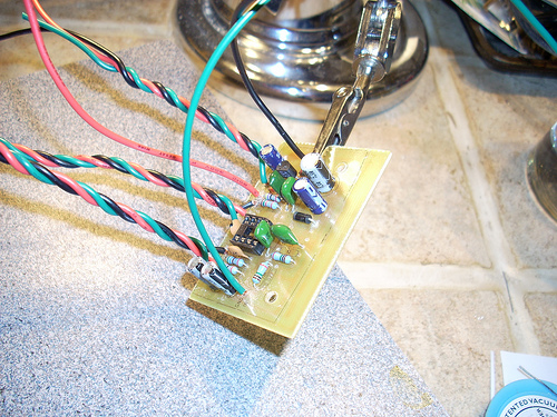 Picture of I Love the Smell of Solder in the Morning.......