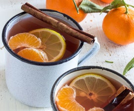 Mulled Mixed Fruit Cider With Mandarins