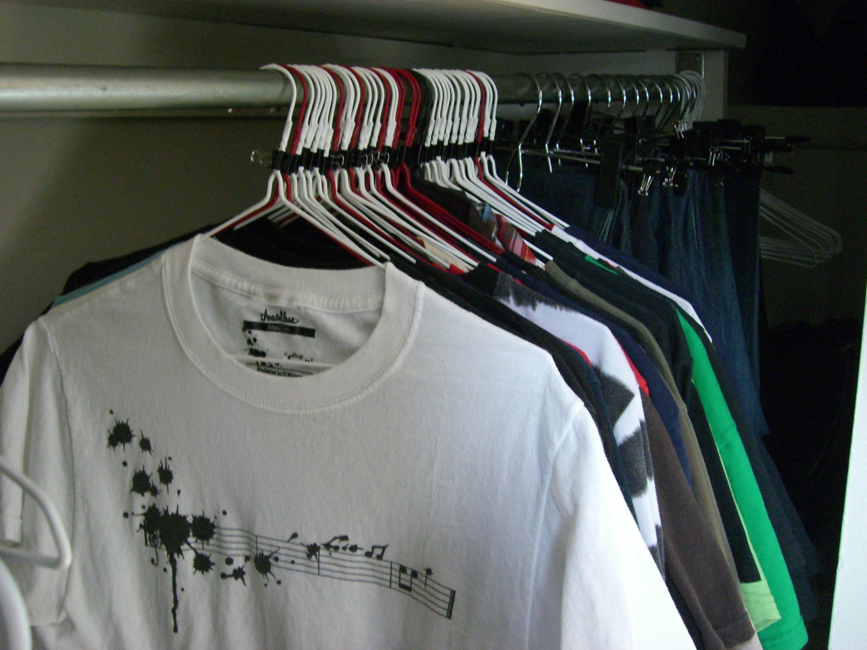 Picture of How to Prolong Clothing Life and Track Its Use in a Small Closet