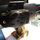 Quick improvised face tracking camera using an Intel Edison