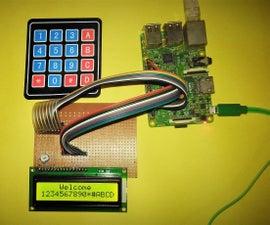 Interface 16x2 Alphanumeric LCD And4x4 Matrix Keypad With Raspberry Pi3