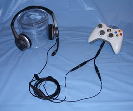 Make a PC Gaming Headset to Xbox 360 Adapter