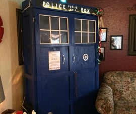 A Tardis Bookcase