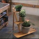 The Knock Down Plant Stand