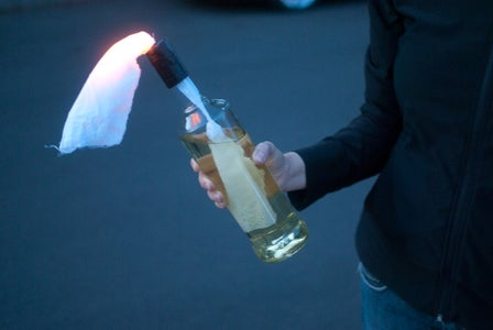 LED Molotov Cocktail