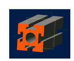 Picture of 3D CAD Tutorial - Extrude Feature - #1 - Track Channel