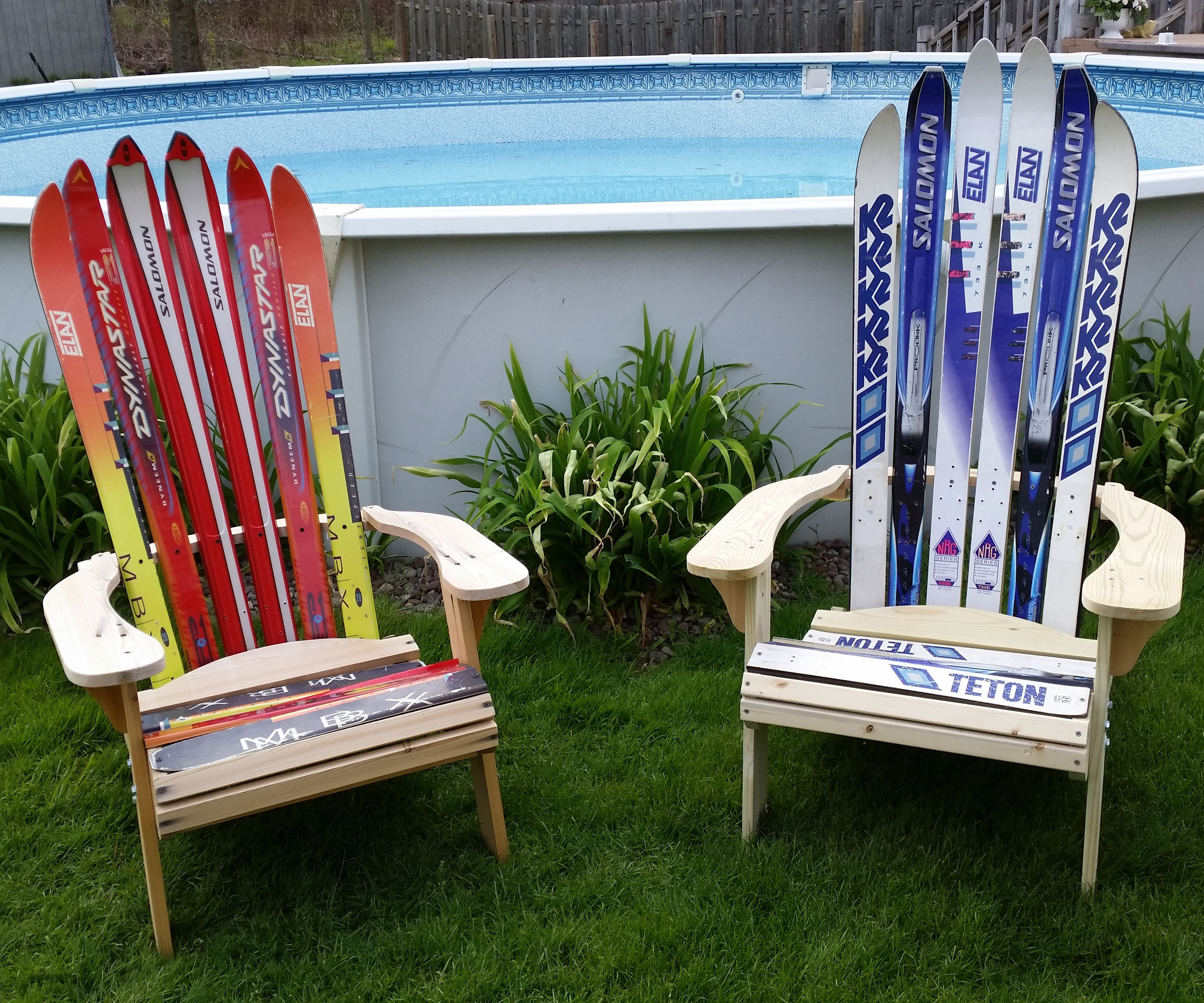 Adirondack Ski Chair 7 Steps With Pictures