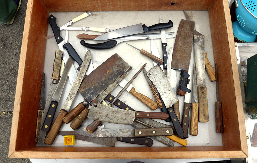 Picture of Restoring Old Kitchen Knives