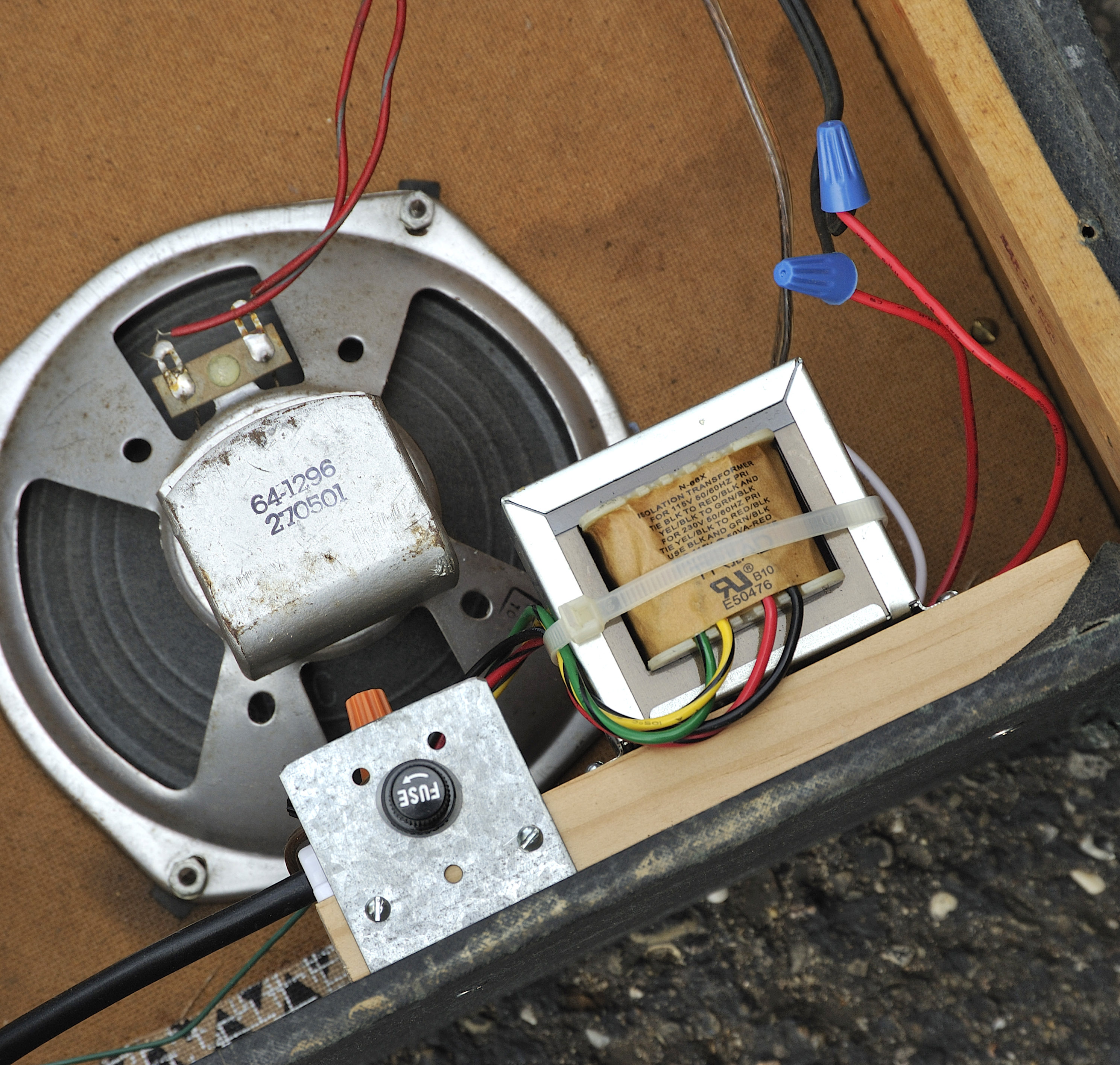 Isolation Transformer Upgrade for Old Guitar Amps: 11 Steps ... on
