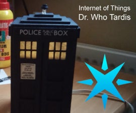 Dr. Who Tardis - IoT