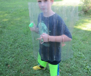 Cool Shield for Water Gun Fight (Bonus: How to Set Up a GREAT Water Gun Fight)