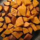 Coriander Sweet Potato