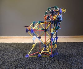 Knex Ball Machine Element: the Scale
