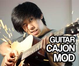 Guitar Cajon Mod (Internal Snare)