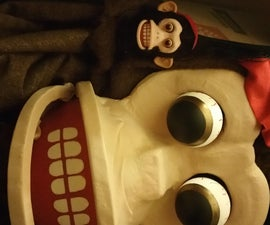 Cymbal Monkey Toy Costume