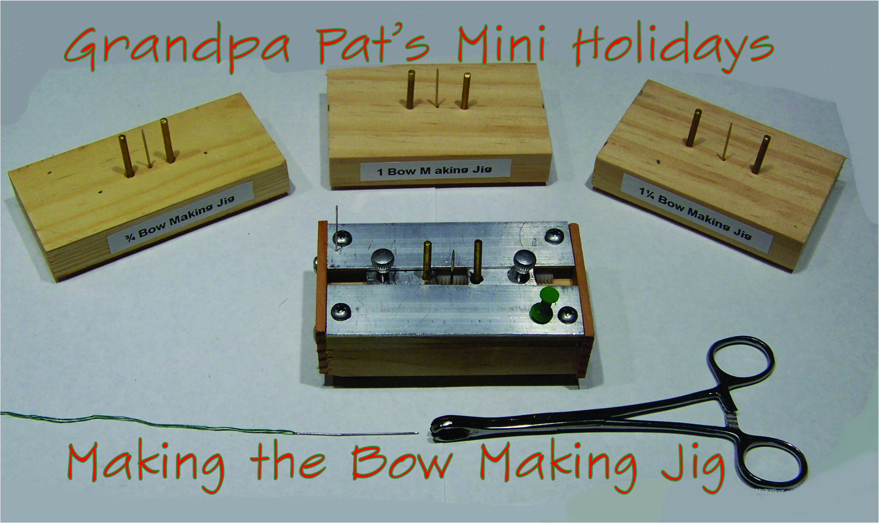 Picture of Mini Bow Making Jig