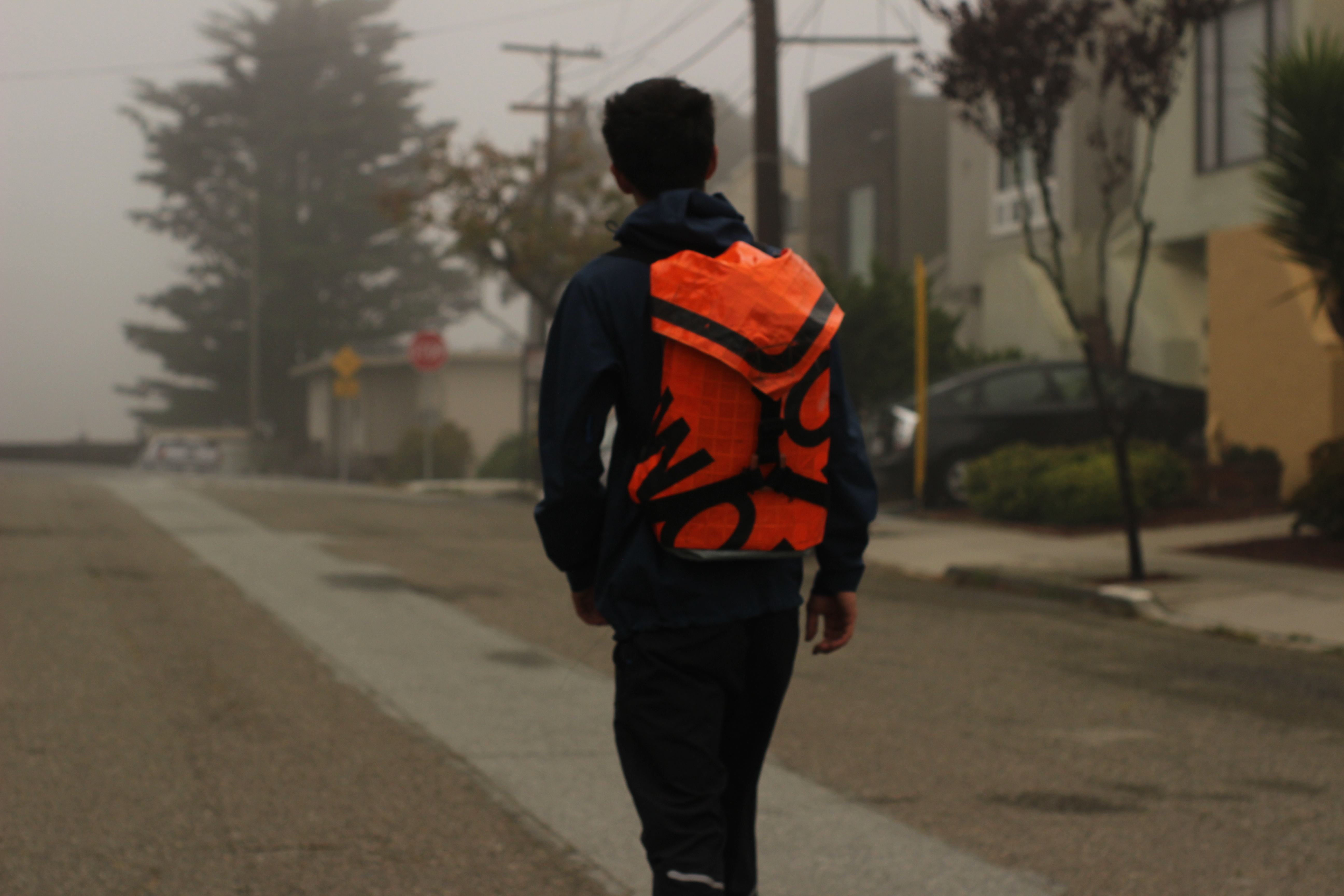 Picture of Road Work Sign Backpack