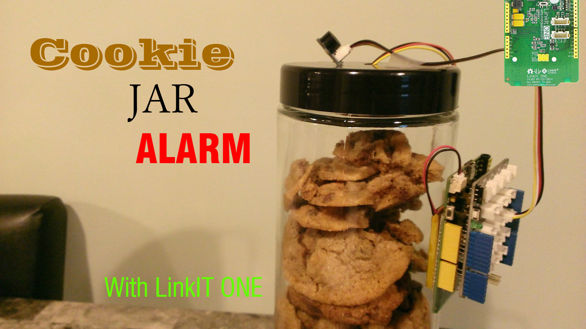Picture of Cookie Jar Alarm