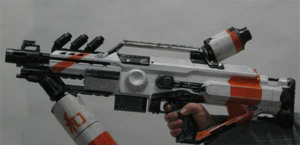 Picture of District 9 Inspired Nerf Mod
