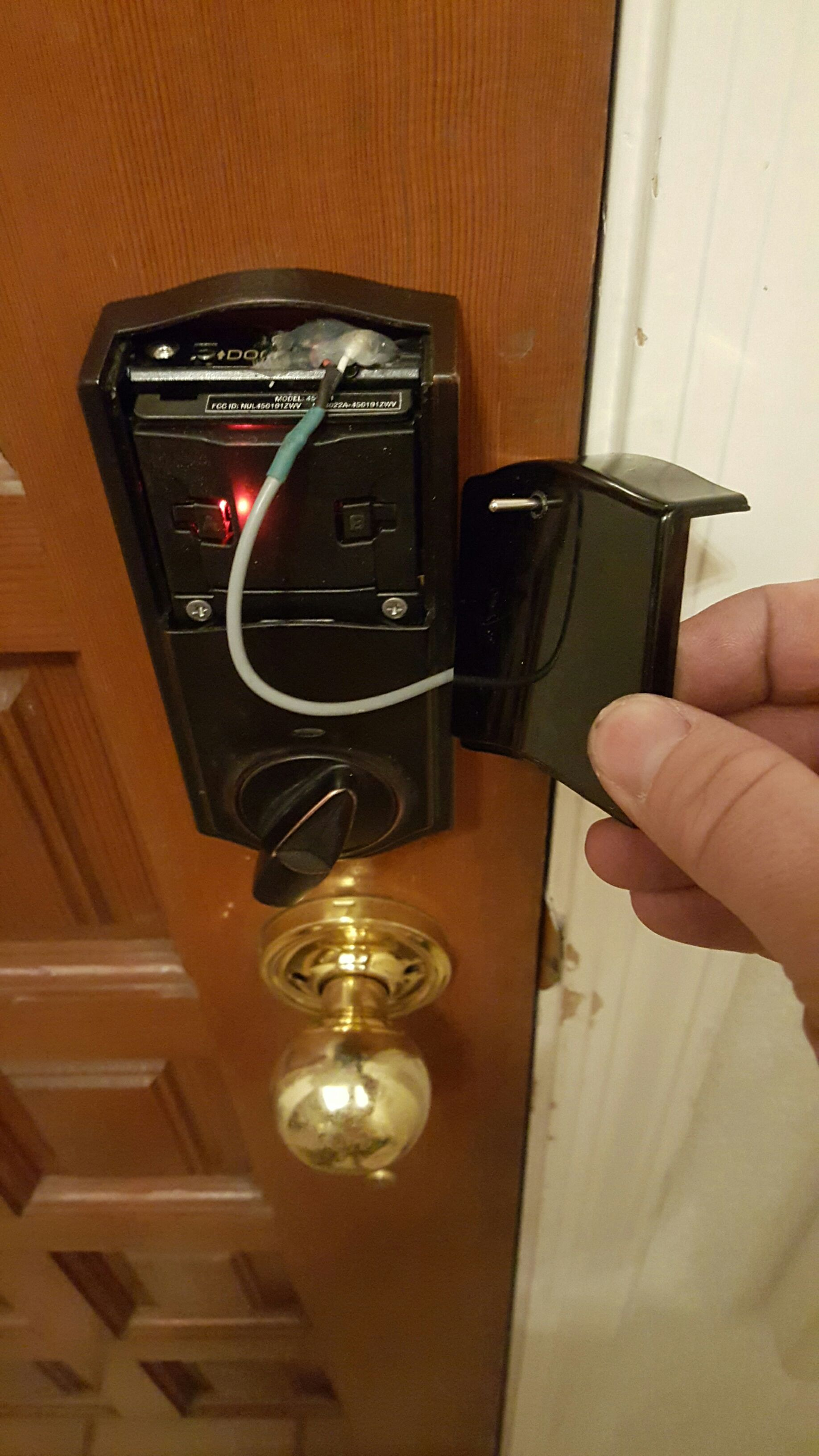 Picture of Reassemble the Lock.