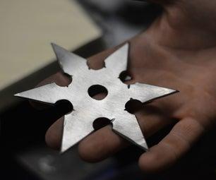 Shuriken? Sure Can! Build Ninja Stars!