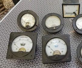 Steampunk Analog Clock