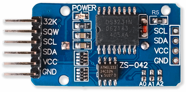 Picture of RTC Real Time Clock Modification