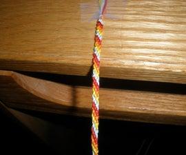 Candy Stripe Friendship Bracelet