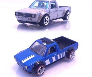 Customize or Refurbish Hot Wheels!