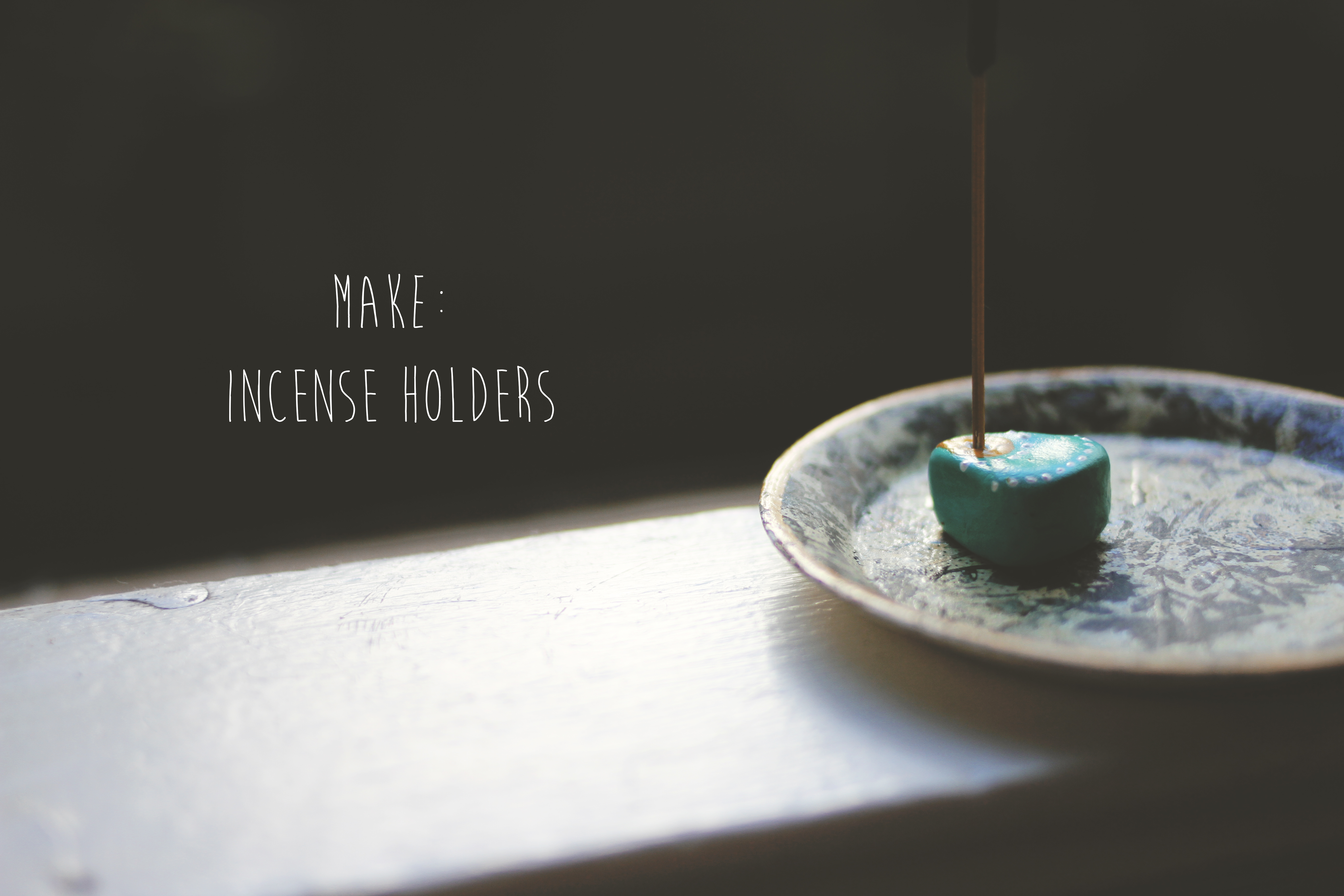 Picture of Easy Incense Holders
