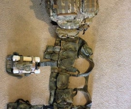 Bushcraft, Survival Kit For Extended Durations - Part 1 - Life Support Vest
