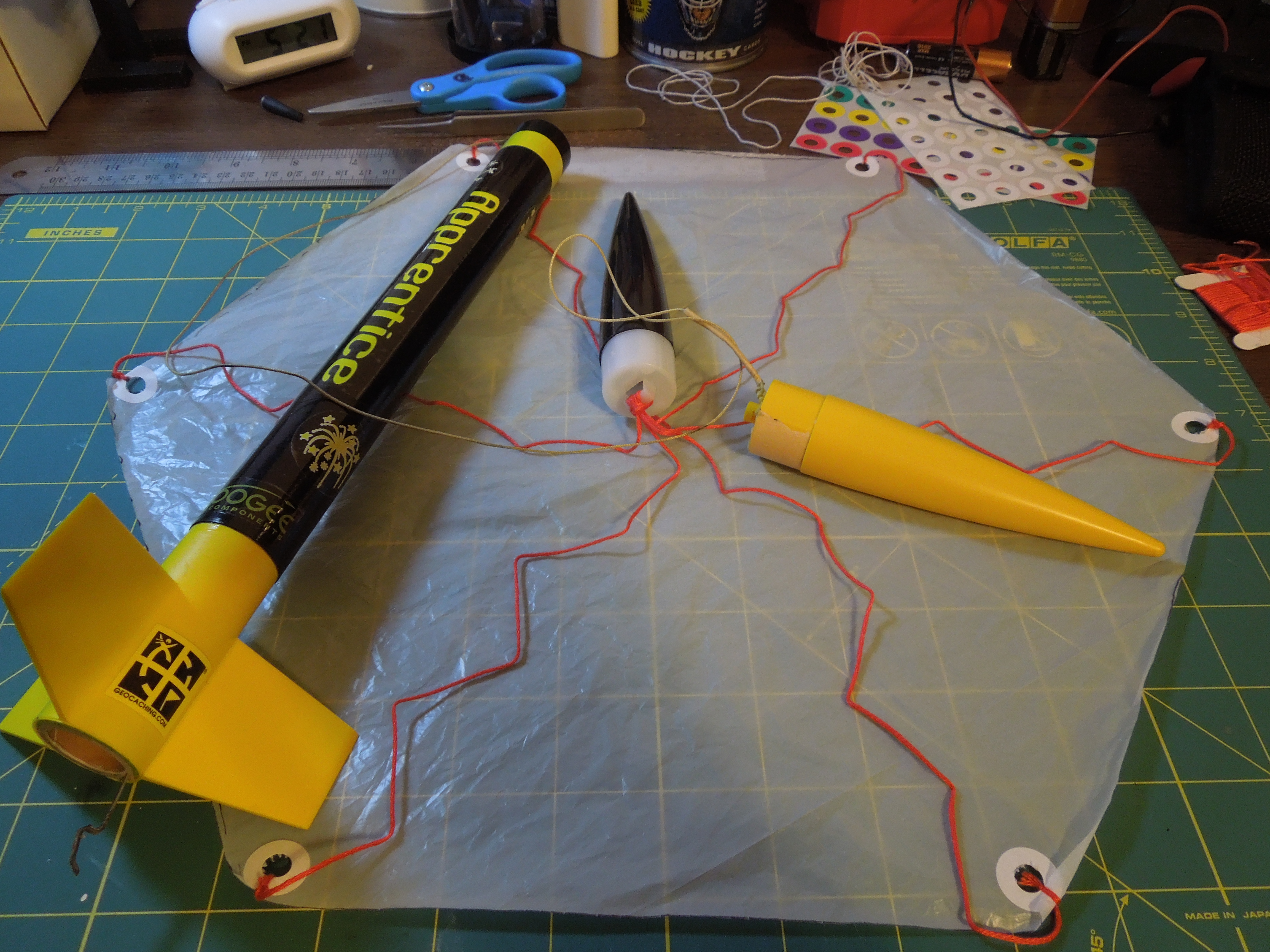 Picture of DIY Model Rocket Parachute