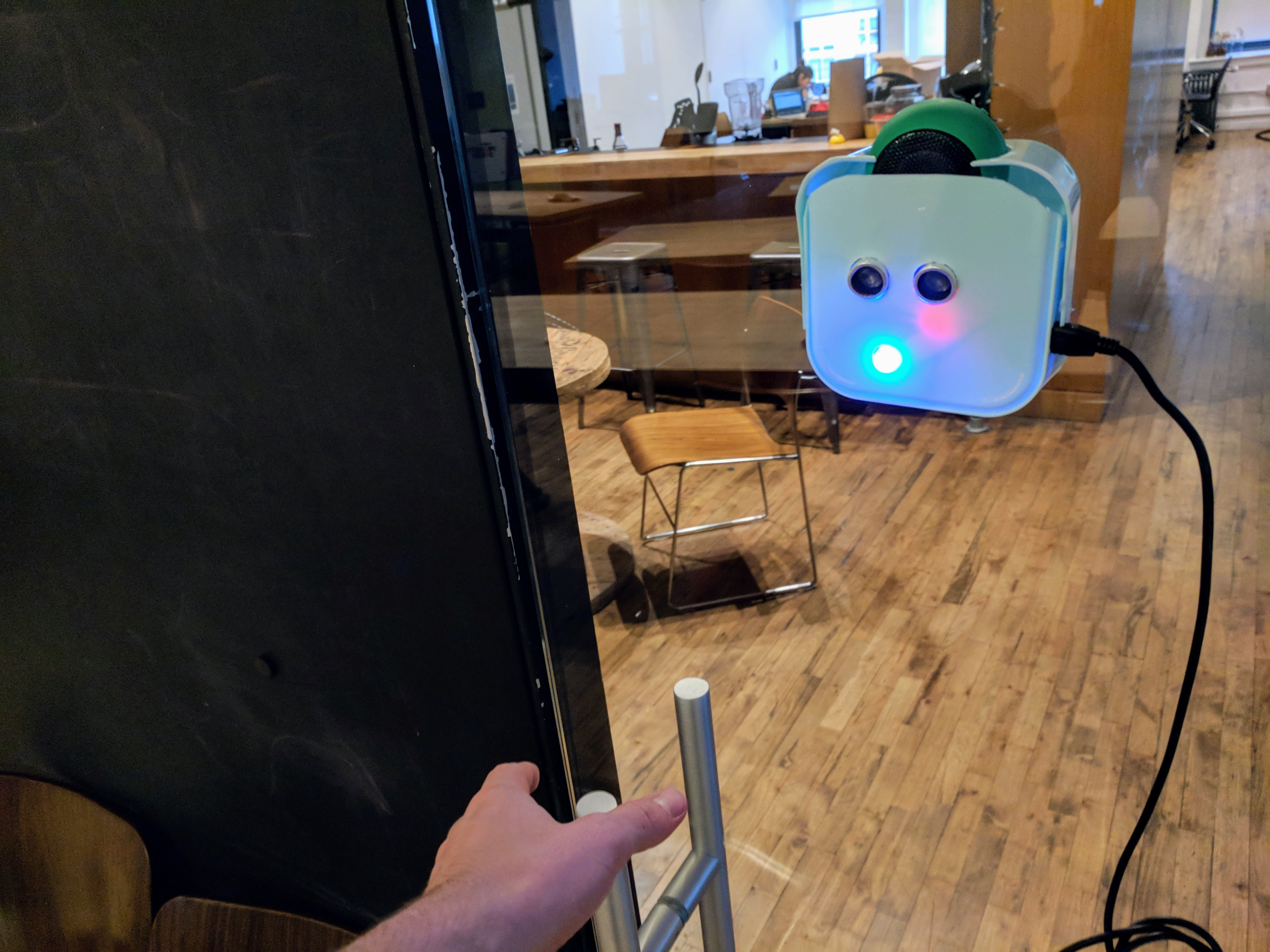 Picture of Reggie: an Intuitive Tool for Unintuitive Doors