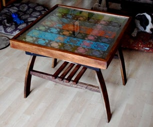 Coffee Table Using Recycled Materials