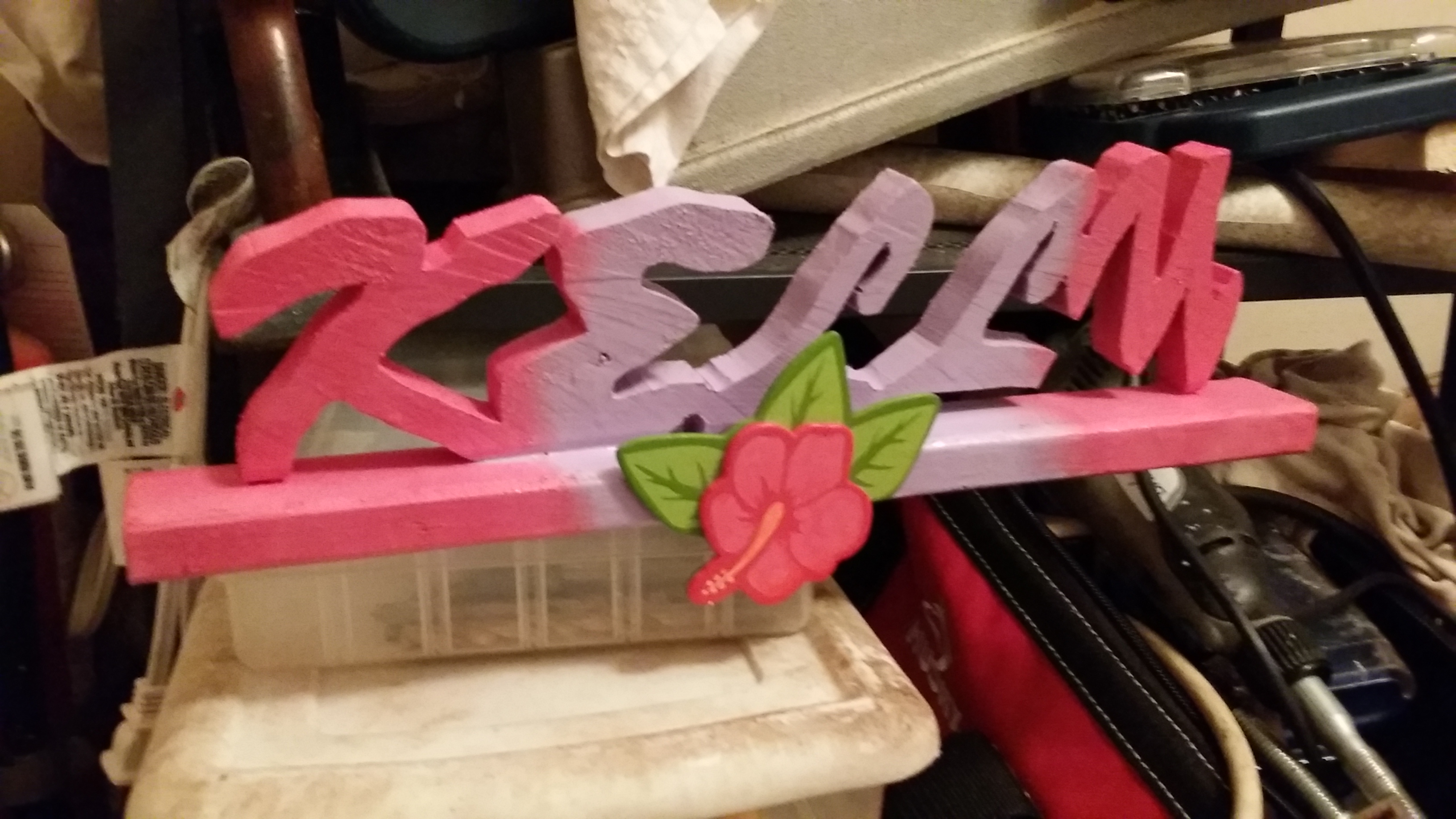 Picture of Personalized Wooden Names