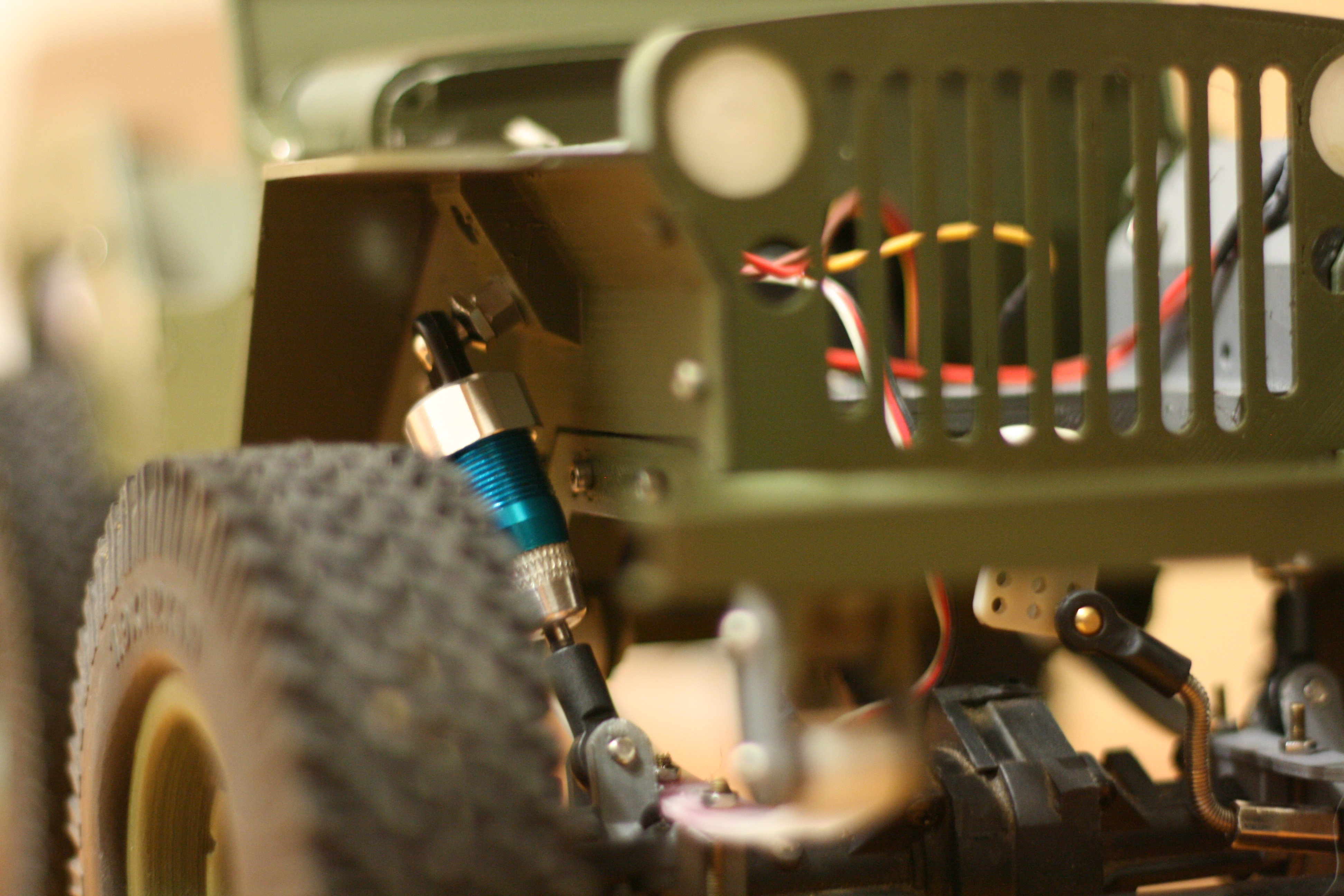 Picture of Assemble Jeep: Install Shocks
