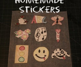 How to Make Homemade Stickers