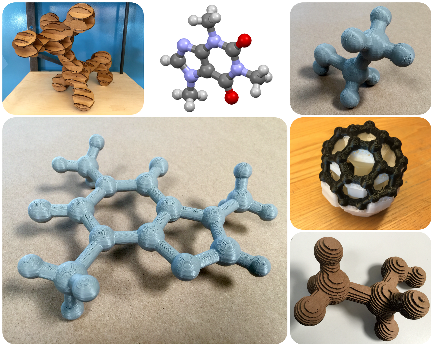 Picture of How to Make Accurate 3D Molecular Models